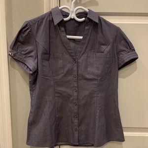 Express Button Down Short Sleeve Shirt